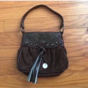 Small Brown Lulu Purse